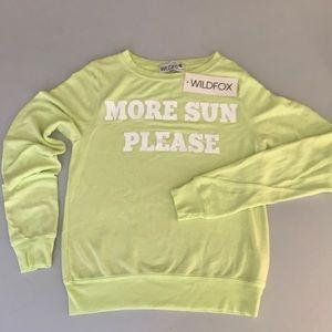WILDFOX NEON shirt NWT